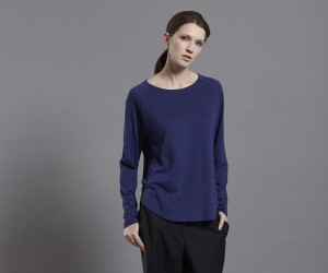 Frieda Tee Blue front