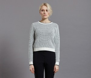 Grace Knit, Bertha Trs Blk front