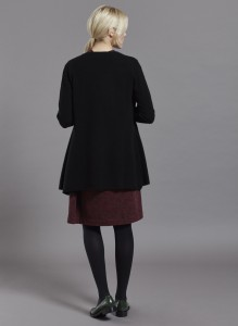 Janis Cardigan Black Back