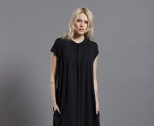 Piaf Dress Black front