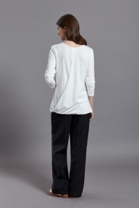 Simone Top wht back