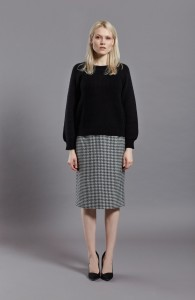 Thelma Knit Blk Front