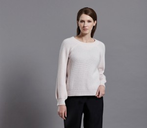 Thelma Knit Rose front-fin