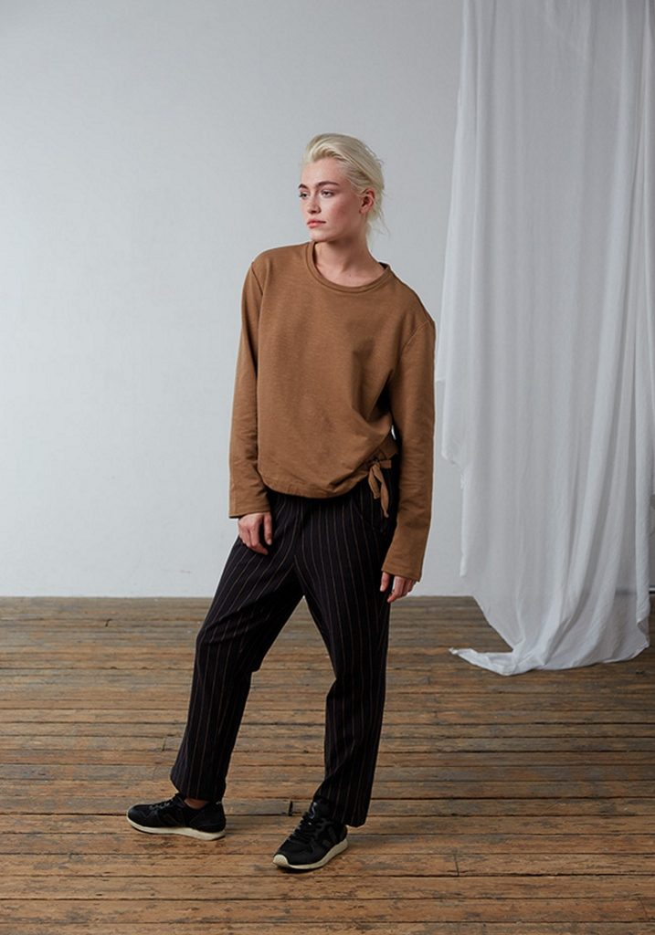 Frieda Sand_AW18_Lookbook_Sweater Emilia_Trousers Elvira