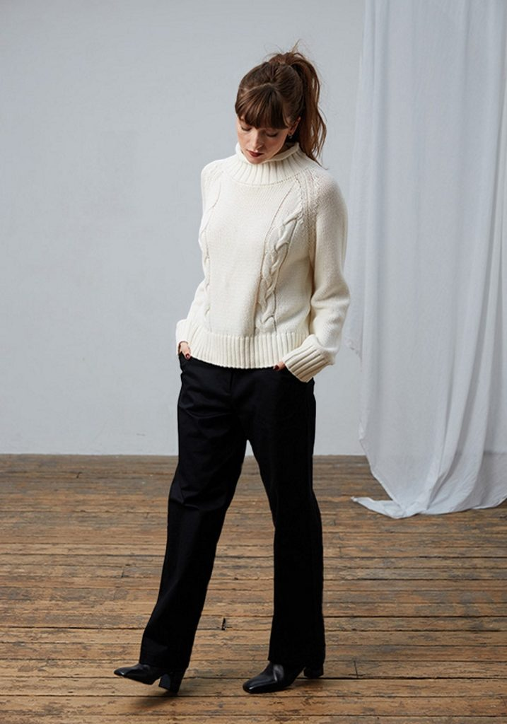 Frieda Sand_AW18_Lookbook_Sweater Gretel_Trousers Marie